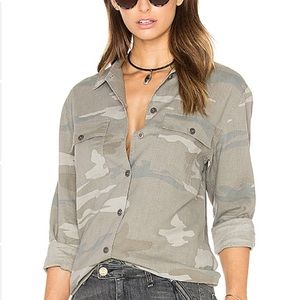 Rails Camo Everett Button Down Shirt S